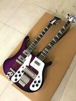 Viola doppio collo 12 corde chitarra elettrica 4 corde basso elettrico di trasporto libero caldo