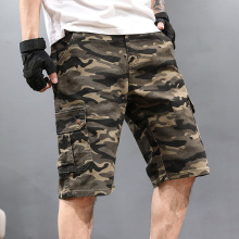 Cargo Shorts Men Cool Camouflage Summer Hot Sale Cotton Casual Short Pants Brand Clothing Comfortable Camo