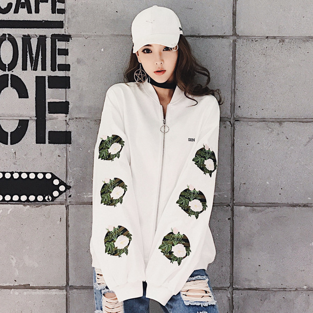 Springand autumn new silk embroidered floral satin jacket, jacket and jacket,  men and women