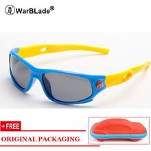 Детские поляризованные солнцезащитные очки Уход за младенцами УФ-очки Защитные очки TR90 для очков Очки для зрения для детей с футляром