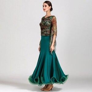 Image 2 - Платье для бальных танцев Foxtrot flamenco, платье для бальных танцев