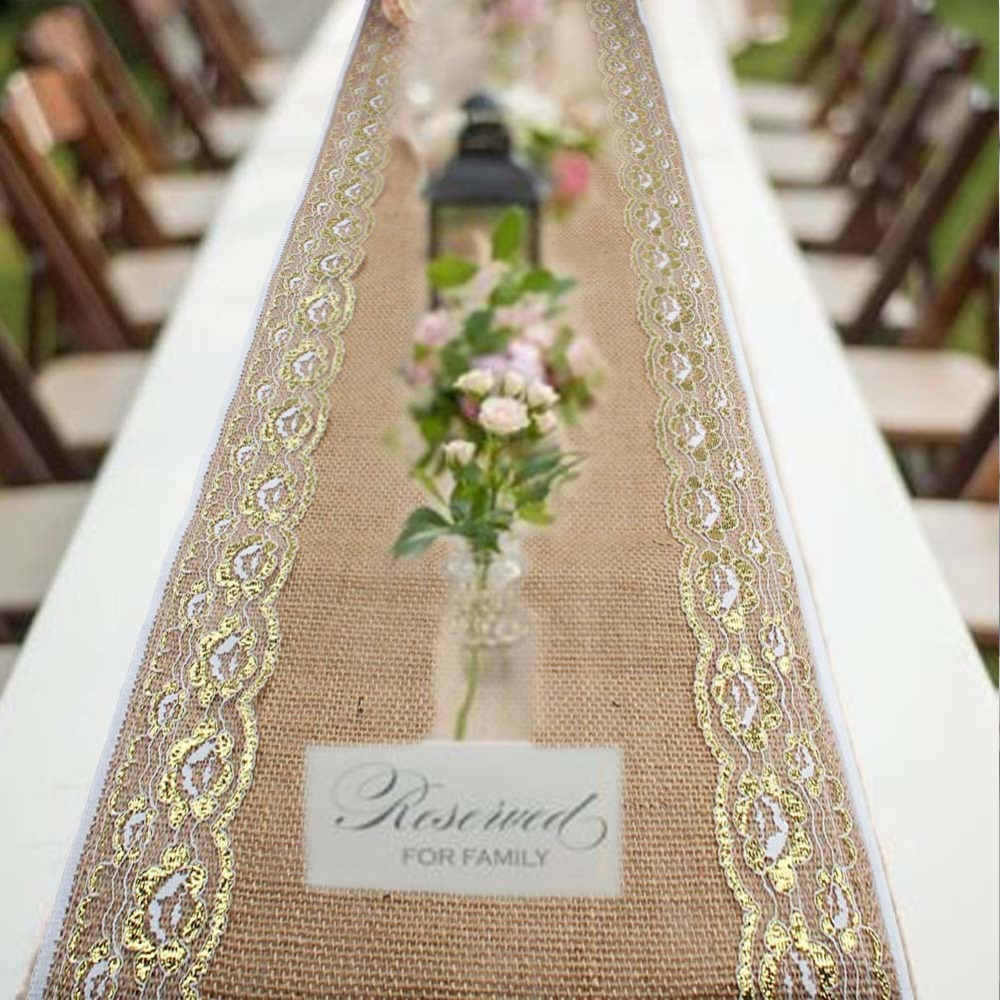 Luxury Embroidered Table Font B