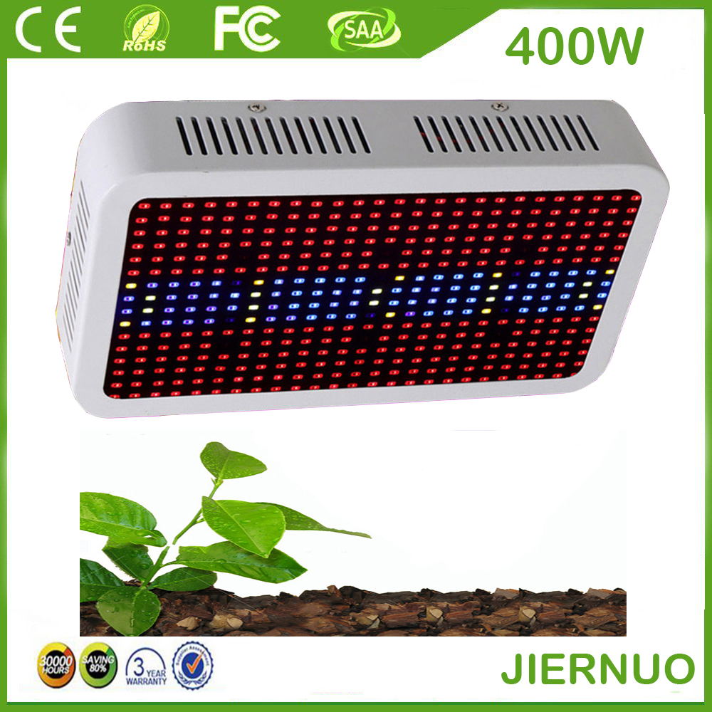 SMD Full Spectrum 400W LED Grow Light Red/Blue/White/UV/IR AC85~265V  Led Plant Lamps Best For Indoor Plants Growing & Flowering new 8 band 50w 100w 50 2w grow light led chip full spectrum led red blue uv ir white for indoor plant seeding growing flower