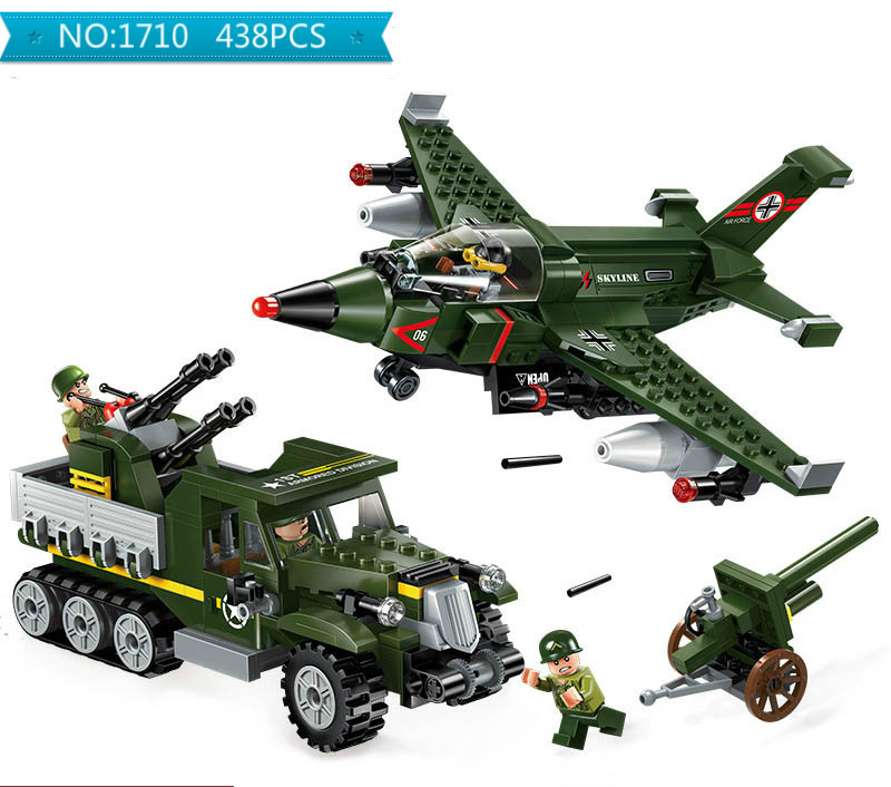 Building Blocks Compatible with Lego Enlighten E1710 438P Models Building Kits Blocks Toys Hobby Hobbies For Chlidren
