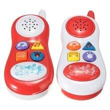 Исследование образовательные звук сотовый музыкальный обучения игрушка телефон детей игрушки детские