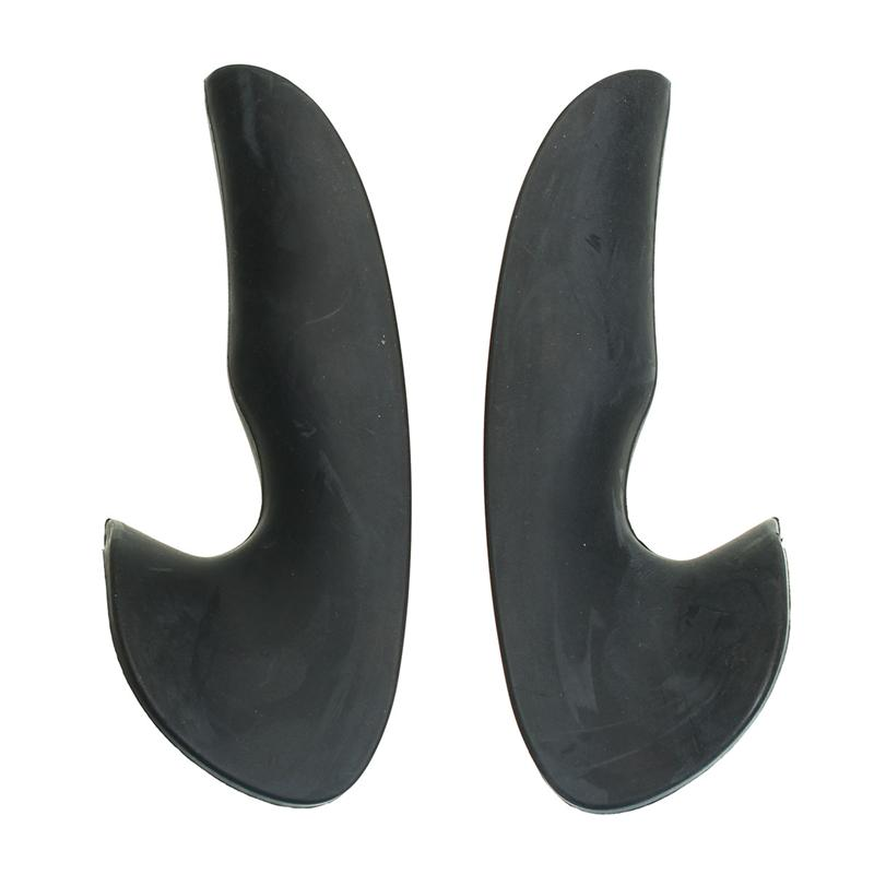 Car Steering Wheel Thumb Grips Rubber 35*120MM Black Covers For Renault Clio MK2 Sport RS MKII 172 1999-2006