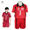 Rolecos Anime Haikyuu Nekoma High School Uniform Jersey NO 1 NO 5 Kuroo Tetsurou Cosplay Costume