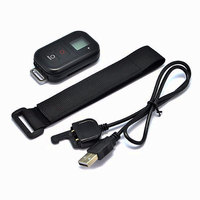 0.8 LCD Waterproof Wireless Wifi Remote Control for GoPro Hero 5 4 Black Session 3+ 3 with USB Charger Cable Go Pro Accessory