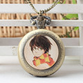 Hot The series movie Harry Potter Hogwarts Gryffindor College Savior Harry Potter Pocket Watch Necklace&pendant best gift H0019