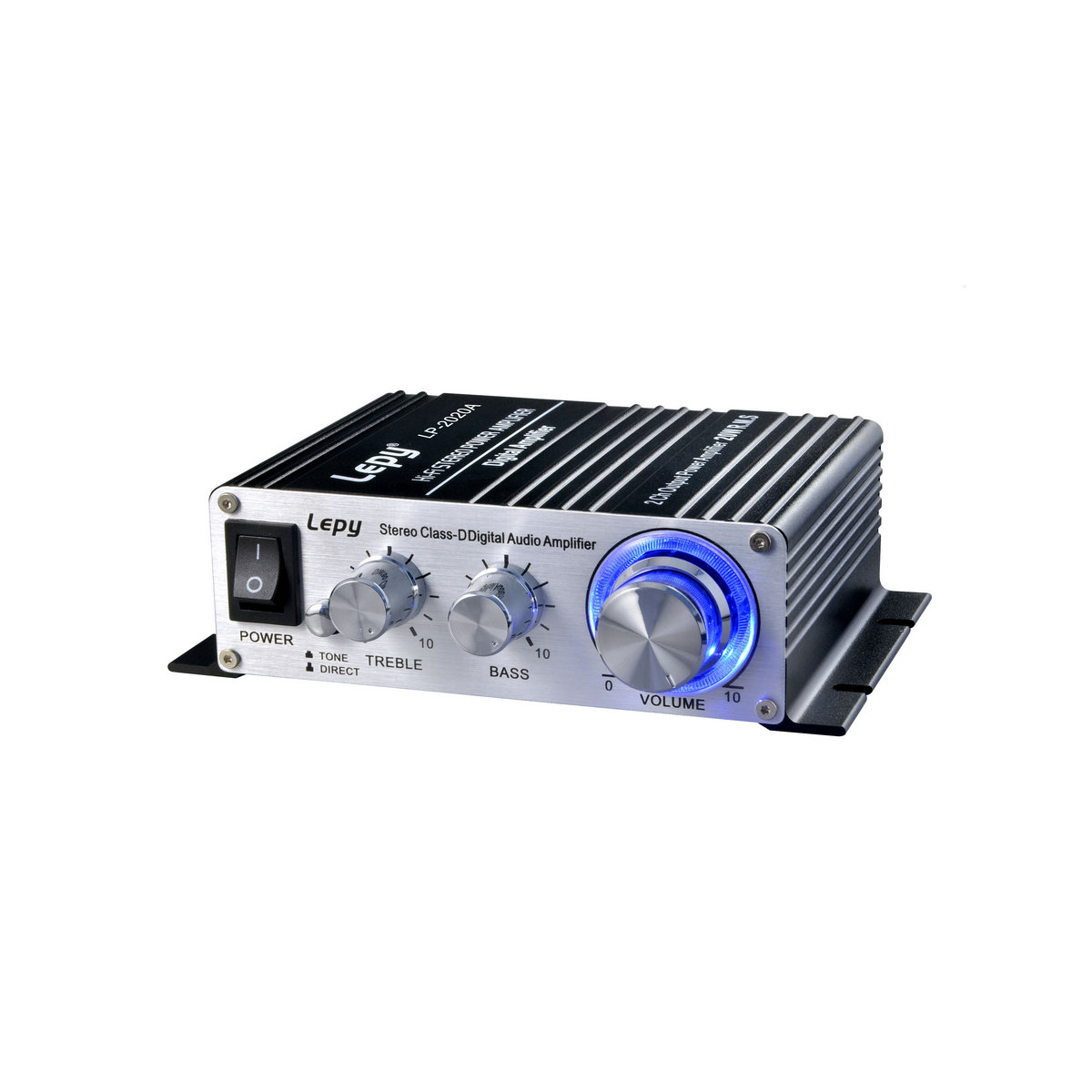 LP-2020A HIFI <font><b>D</b></font> <font><b>class</b></font> Digital small computer DVD mobile phone Mini <font><b>Power</b></font> amplifier with <font><b>Power</b></font> <font><b>supply</b></font> and audio cable image