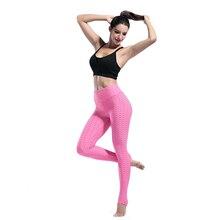 Sexy Women High Elastic Fitness Sport Leggings Yoga Pants Slim Running Tights Leggings For Women Fitness Gym Tights Jogging цена в Москве и Питере