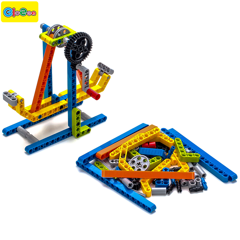 65pcs Model Building Toys For Kids Creative Learning