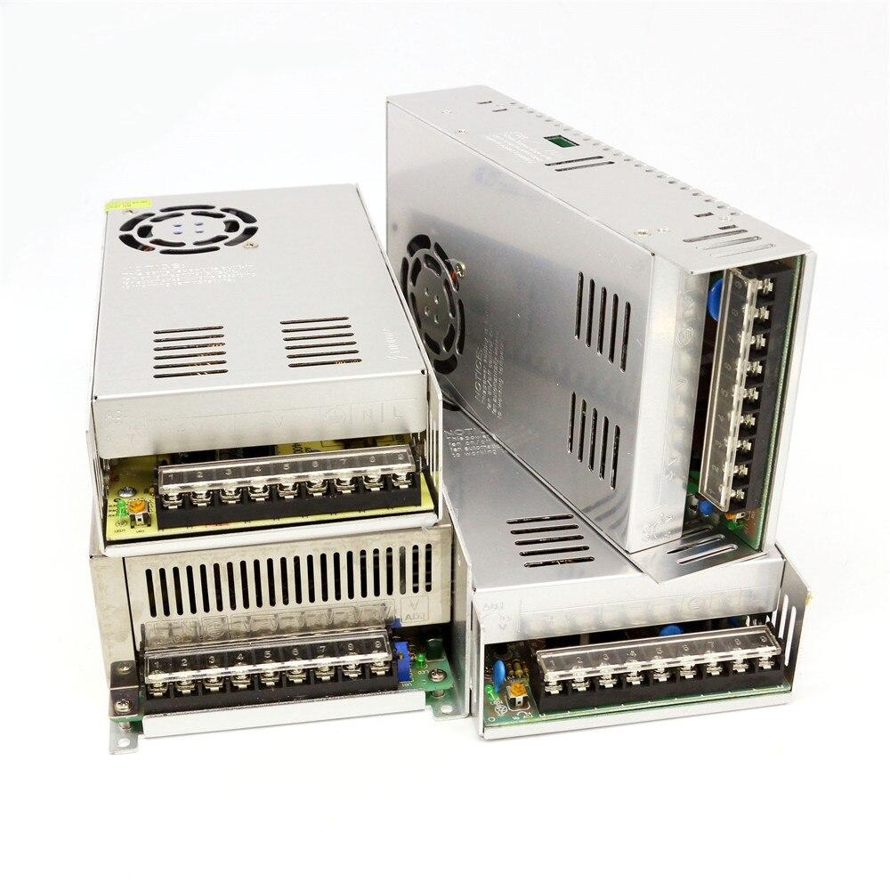 24 V DC 480 W 48 V 400 W 500 W 1000 W 8A 10A 20A tensión constante de energía de conmutación adaptador de alimentación para luz de tira LED CCTV MOTOR paso a paso
