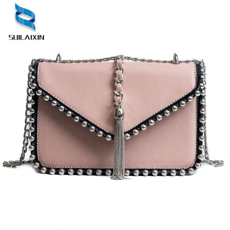 Women Brand Shoulder Bags Fashion Colorful River Small Black Crossbody Messenger Bags Color Straps Wide Handbags high Quality