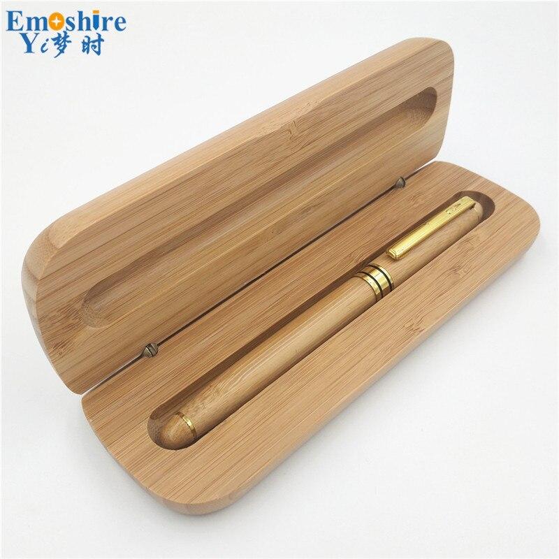 Laiton Stylo à Bille de Signature Papeterie de Luxe Bambou