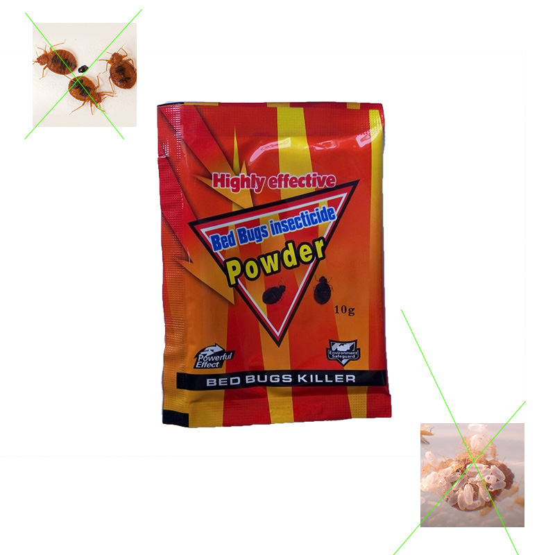 20 bags/lot High Effective Bed bug Killer Powder,Kill Bed bugs,Fleas,Ants ,Chinches,and Microspie Pest Reject HH16041a