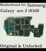 Test one by one 100% Working Unlocked Original Mainboard For Samsung galaxy  ace 2 i8160 motherboard  With Chip Logic Board