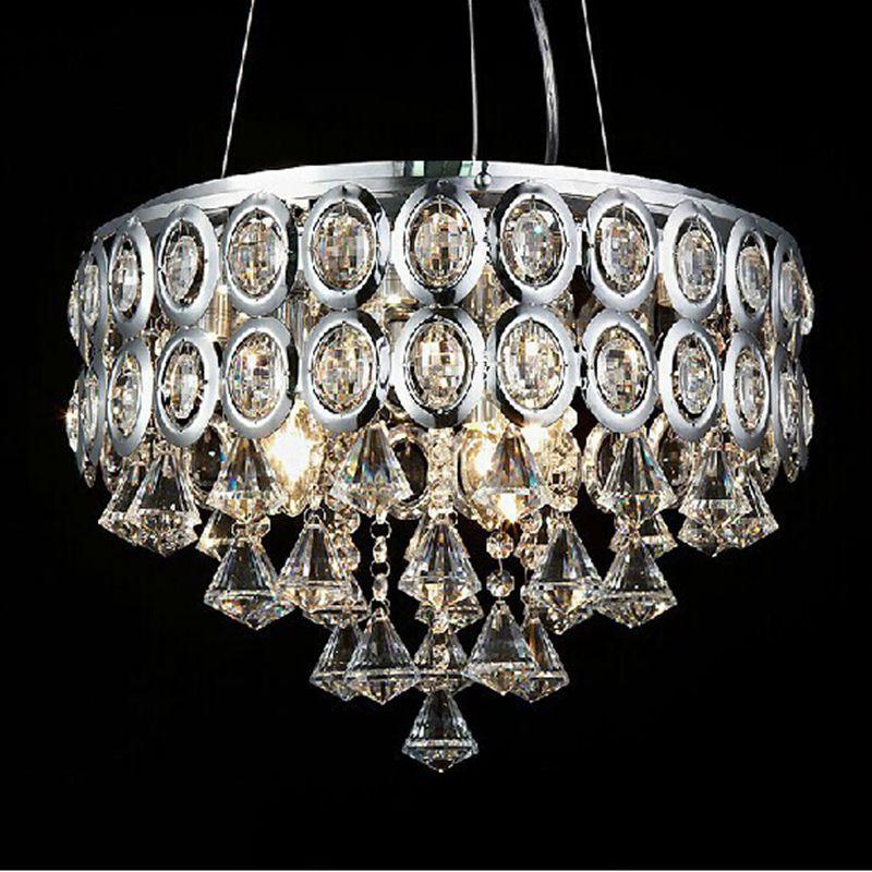Modern Chandelier Wholesale: Free Shipping Wholesale Modern E14 Light Crystal