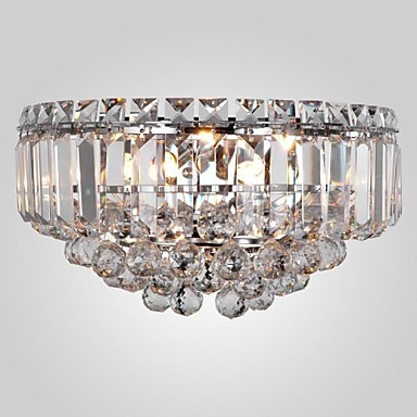 Picture Of Empire Crystal Wall Sconce Chrome Gold 4 Lights