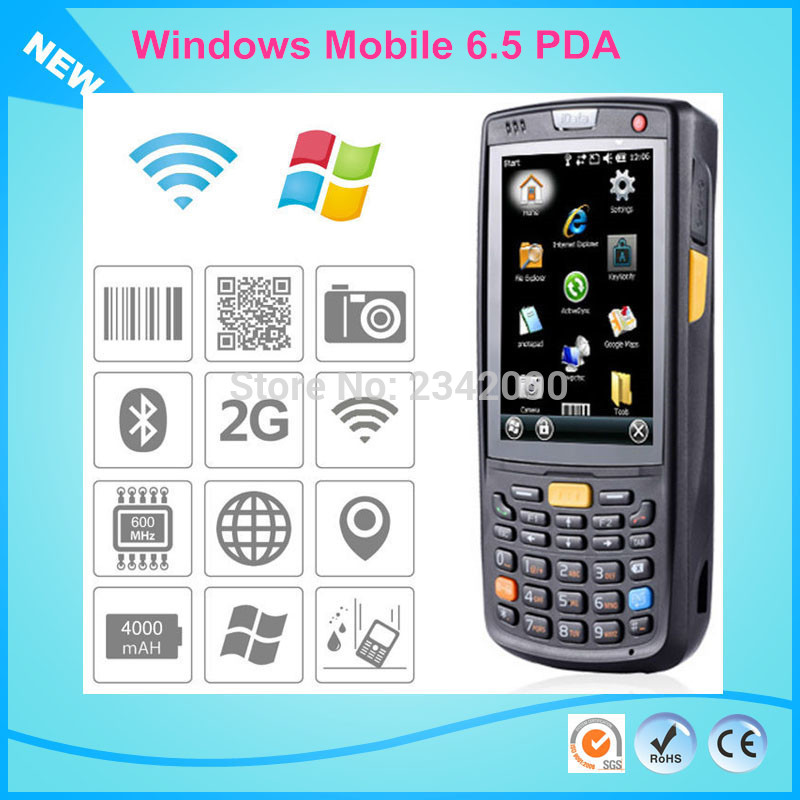 Us 398 6 Scanner Film For Windows Mobile 5 Handheld Rugged Pda Wireless Data Terminal With 13 56 Mhz Rfid In Scanners From
