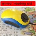 Wired elektronische lesen aid Maus lupe TV/AV ausgang Maus form Lesen aids bis zu 70x In 20 zoll display