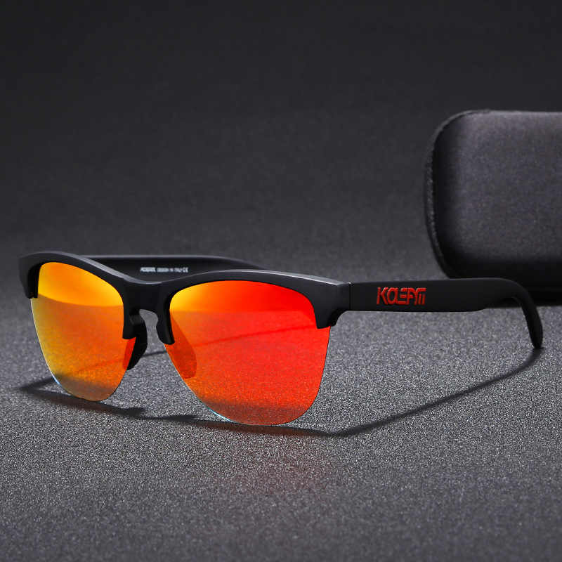 Luxury Men's Sun Glasses KDEAM Brand Polarized Sunglasses TAC Men Classic Design Driving Mirror Sunglasses Male Eyewear