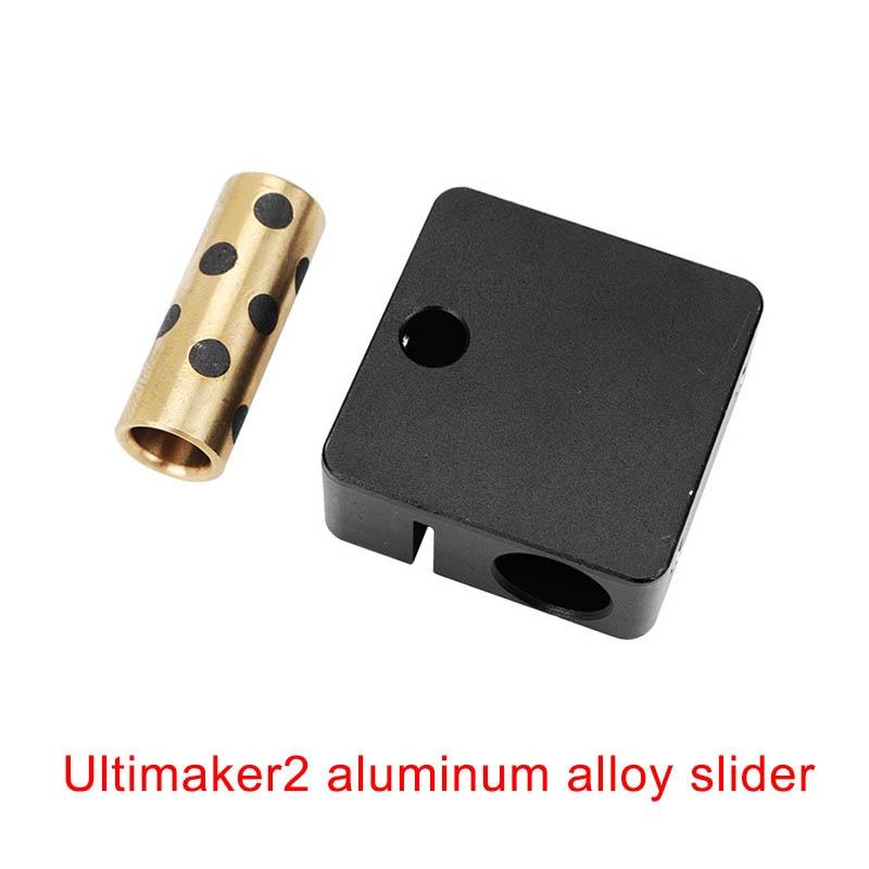 4pcs Updated 2 Aluminum Alloy Slider Cross Block+Belt Buckle for Ultimaker 3D Printer ND9984pcs Updated 2 Aluminum Alloy Slider Cross Block+Belt Buckle for Ultimaker 3D Printer ND998