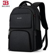 BALANG Marka 2019 Yeni Laptop Sırt çantası için 15.6 inç Erkekler Gençler için Sırt Çantaları Su Geçirmez Sırt Çantası Okul Çantaları seyahat sırt çantası