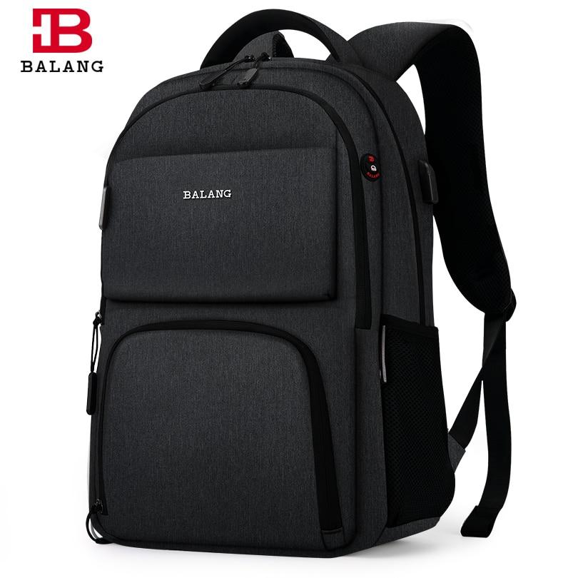 BALANG Brand 2019 New Laptop Backpacks for 15.6 inch Men Bac