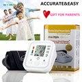 50pcs  Health Care 1pcs Digital Lcd Upper Arm Blood Pressure Monitor Heart Beat Meter Machine Tonometer for Measuring Automatic