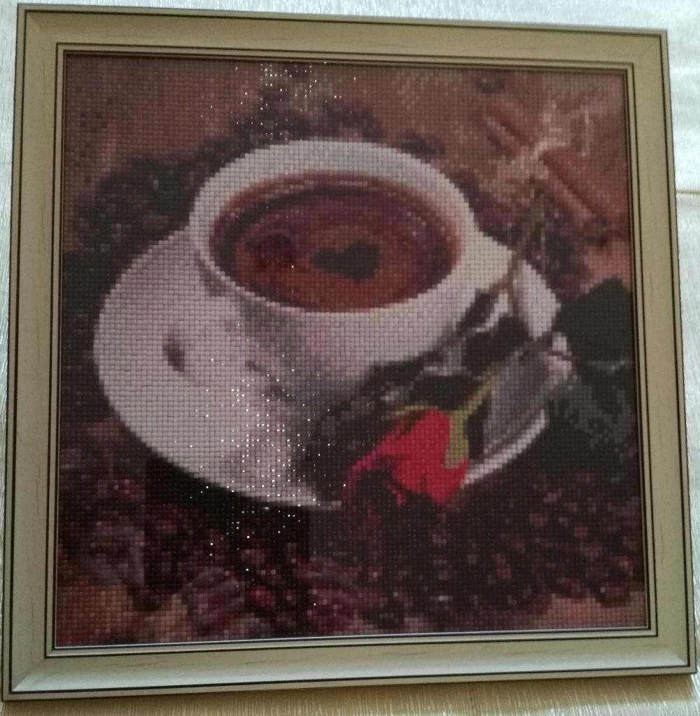 Diy 5D Berlian Lukisan Cross Stitch Tinggal Di Grey Cat Berlian - Seni, kerajinan dan menjahit - Foto 6