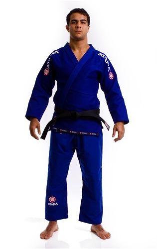 Free Shipping! Atama Mundial #9 Brazillian Jiu Jitsu Gi BJJ Gi Uniform BJJ Kimono MMA- Blue White Black A1-A4