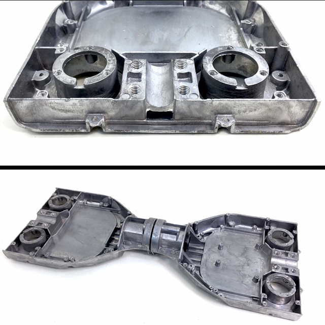 Coquille de Base de cadre dalliage daluminium de Hoverboard de plaque métallique de rechange pour 6.5/8/10