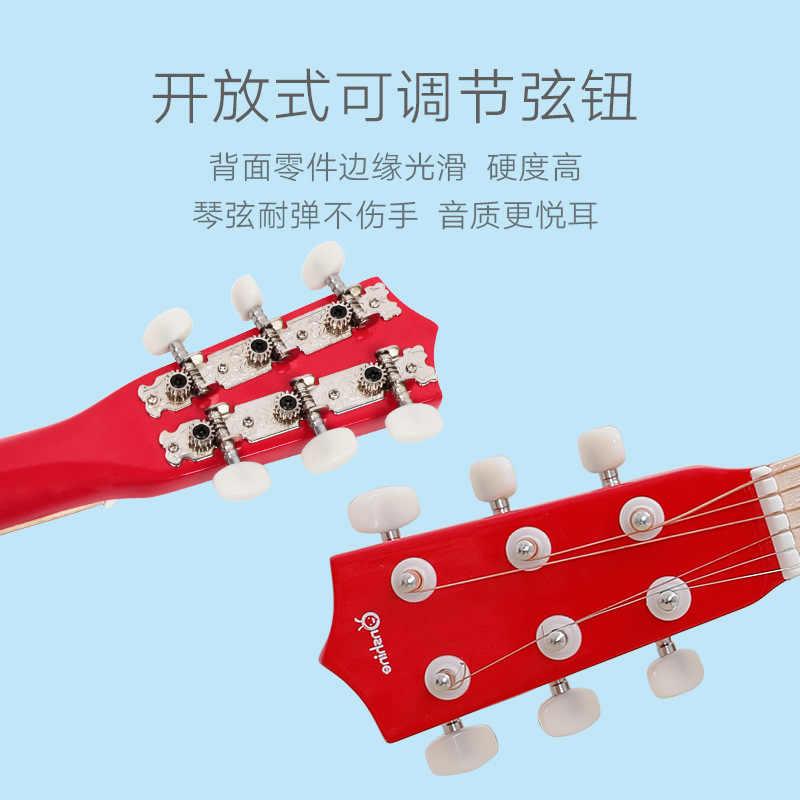 2019 Onshine укулеле детская маленькая гитара игрушка имитация игры для мужчин и женщин музыкальный мини-инструмент игрушки для детского сада