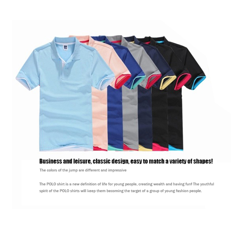2019 new men's   polo   shirt high quality men's cotton short-sleeved shirt sweatshirt summer men's   polo   shirt all cotton large size