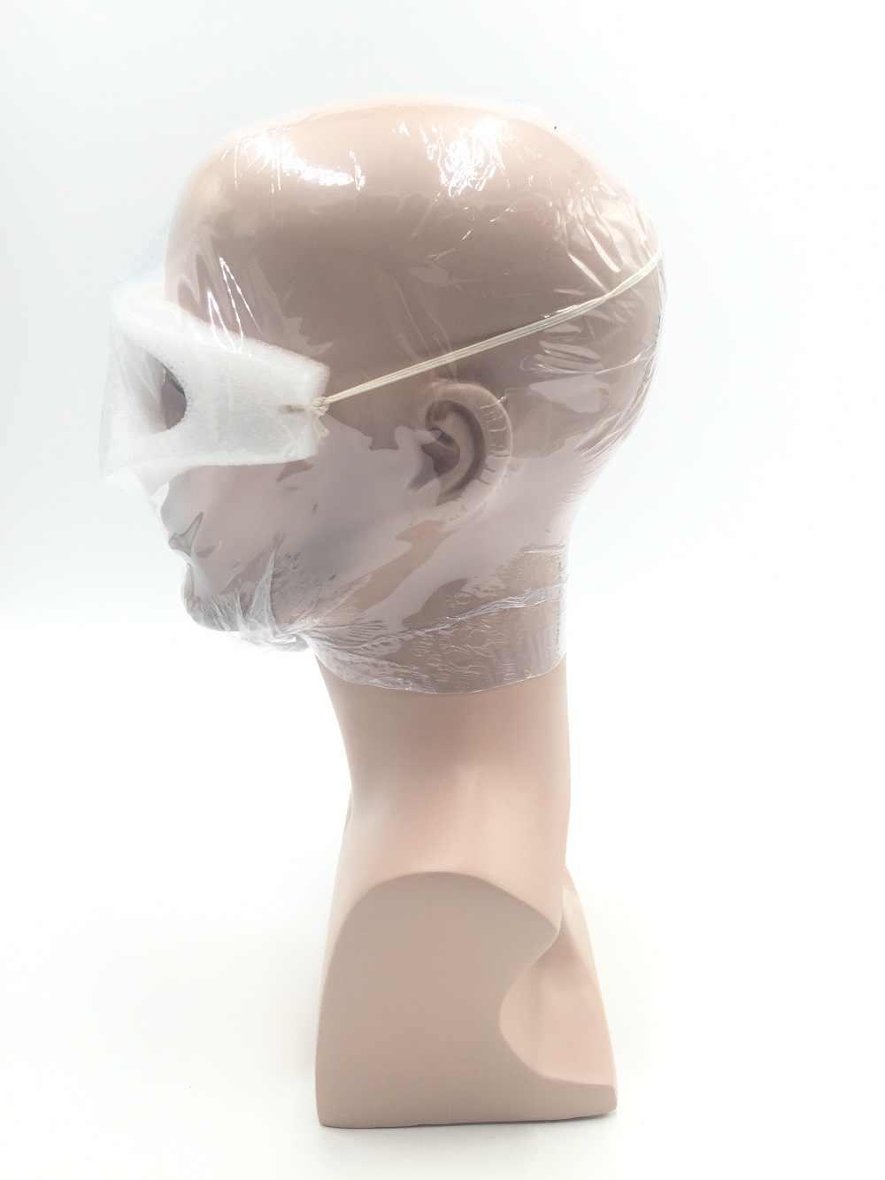 CAMMITEVER פיברגלס Mannequin ראש עבור פאות משקפי שמש מסכת בובת תצוגת לקוסמטיקה כובע ראשי דוגמן גברים לקוסמטיקה דגם