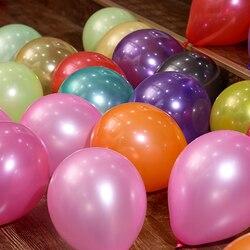 2018 förderung Juguetes 1 stücke 10 Zoll Aufblasbare Kugel Novetly Hochzeit Dekoration latexballons