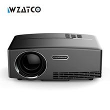 Новые GP80 1800 люмен 800×600 Мини пико портативный HDMI домашнего кинотеатра 3D Кино проектор мультимедийный HD 1080 P видео projetor Beamer