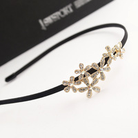 Korean version of the original hair jewelry alloy diamond plum hair bands headband, free home delivery