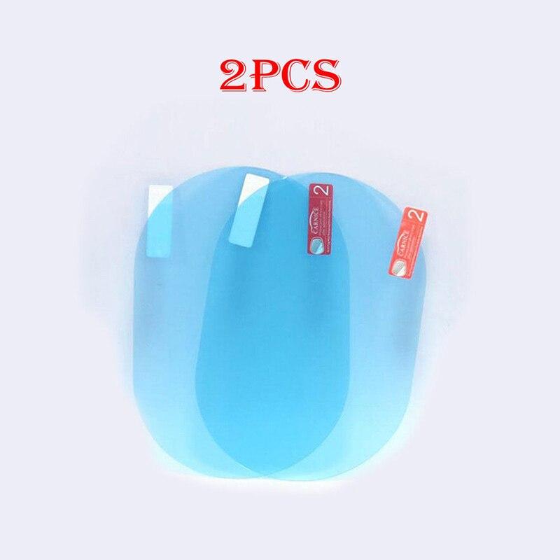 2pcs ด้านหลังดูกระจก Anti หมอก Anti FOG เคลือบกันฝนป้องกันฟิล์มกระจกพับชุด