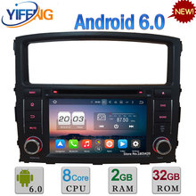 7″ 2GB RAM 32GB ROM Android 6.0 Octa Core 3G/4G WIFI Car DVD Stereo Radio Video Player For Mitsubishi Pajero V97 V93 2006-2016