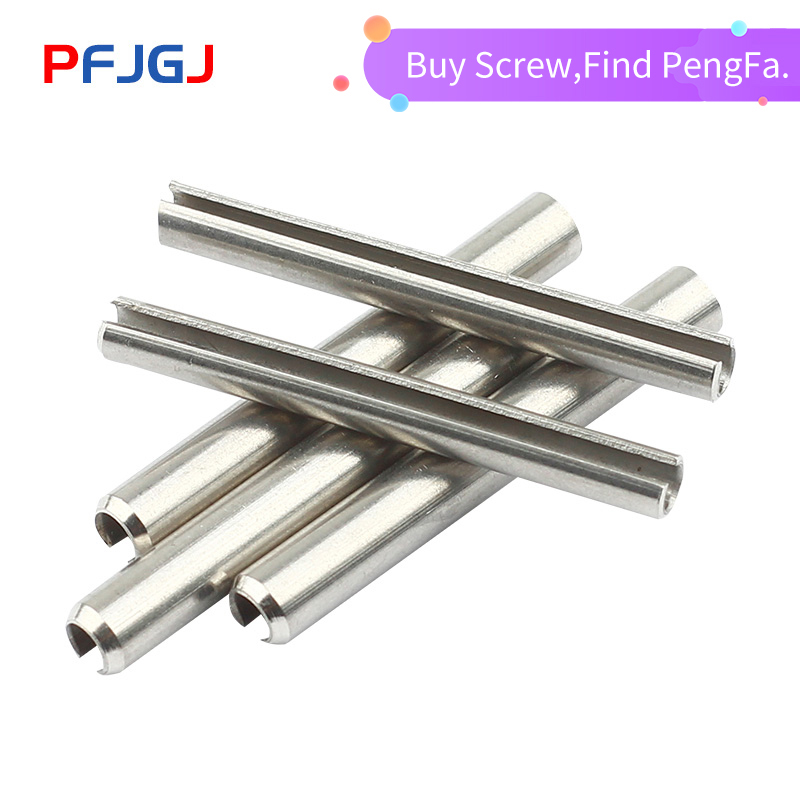 Peng Fa GB879 M1.5 M2 M2.5 M3 M4 304 stainless steel positioning spring elastic cylindrical Cotter pin Dowel Tension Roll Pin(China)