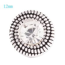 Hot Seal 12mm small snaps beads jewelry fit small snap Bracelet KS6040-S(China)
