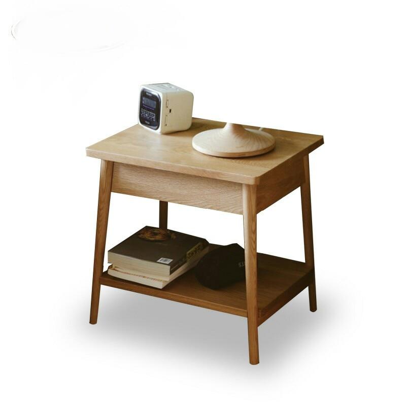 US $389.99 |Console Da Tavolo basse da tavolo comodino in legno massello  Mobili Soggiorno Mobili Per La Casa moderno e minimalista scrivania  tavolino ...