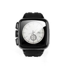 Reloj inteligente MT6572A UC08 1.54 Pulgadas 3G Android Smartwatch Teléfono IP67 A Prueba de agua Reloj Inteligente 3.0MP Cámara con GPS WIFI
