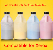 Free Shipping Compatible for xerox 7328 7335 7345 7346 Chemical Color Toner Powder  printer color powder 4KG