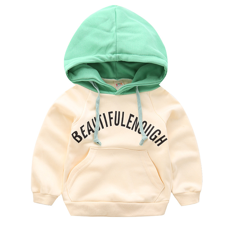 New spring autumn boys girls hoodies sweatshirts cotton fashion Letter kids clothes Baby coat Outerwear Children clothing nmd