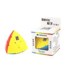 MoYu Mastermorphix Stickerless 3×3 Magic Cube Puzzle Toy – Colorful