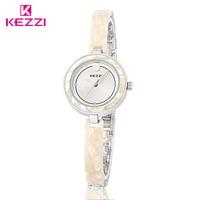 KEZZI Top Brand Fashion Ladies Wristwatches Women Luxury Quartz Rose Gold Watch Elegant Waterproof Clock Bracelet