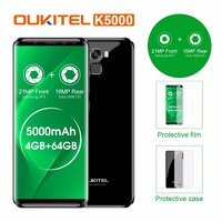 Original Oukitel K5000 4G LTE Mobile Phone 4GB RAM 64GB ROM MT6750V Octa Core Android 7